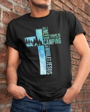 All I Need Is Camping Classic T-Shirt apparel-classic-tshirt-lifestyle-26