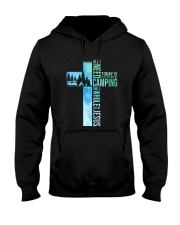All I Need Is Camping Hooded Sweatshirt tile