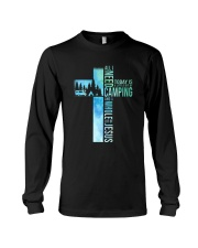 All I Need Is Camping Long Sleeve Tee thumbnail