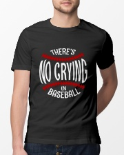 There's No Crying In Baseball Classic T-Shirt lifestyle-mens-crewneck-front-13