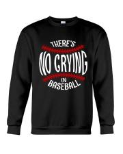 There's No Crying In Baseball Crewneck Sweatshirt thumbnail