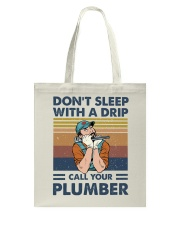 Call Your Plumber Tote Bag thumbnail