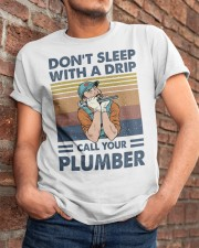 Call Your Plumber Classic T-Shirt apparel-classic-tshirt-lifestyle-26