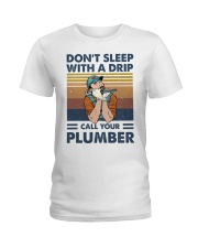 Call Your Plumber Ladies T-Shirt thumbnail