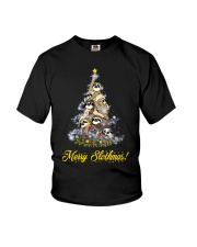 Merry Chistmas Sloth Youth T-Shirt thumbnail