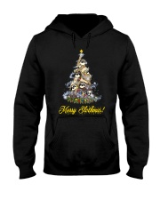 Merry Chistmas Sloth Hooded Sweatshirt thumbnail