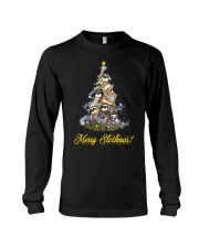 Merry Chistmas Sloth Long Sleeve Tee thumbnail
