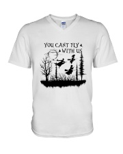 You Can't Fly V-Neck T-Shirt thumbnail