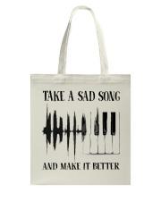 Take A Sad Song Tote Bag thumbnail
