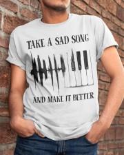 Take A Sad Song Classic T-Shirt apparel-classic-tshirt-lifestyle-26