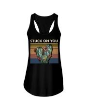 Stuck On You Ladies Flowy Tank thumbnail
