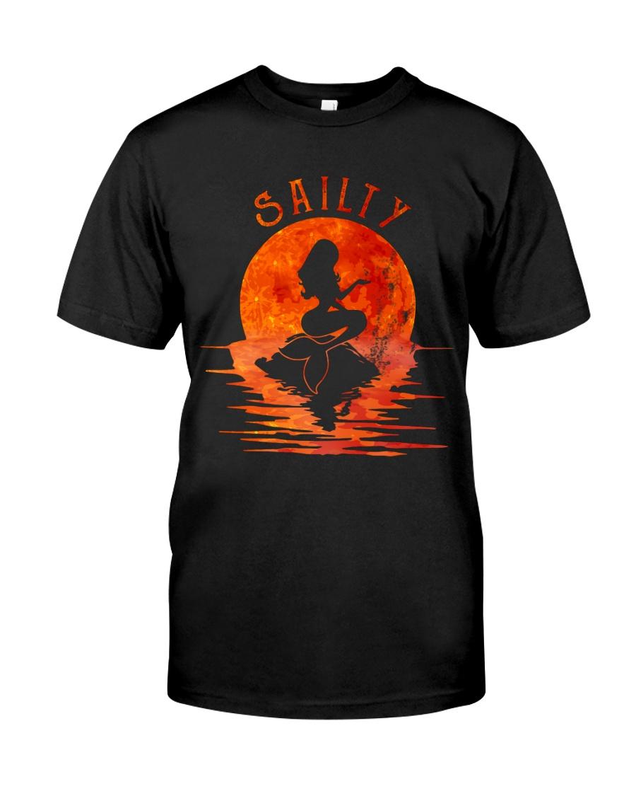 Sailty Mermaid Classic T-Shirt