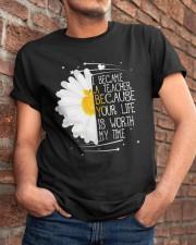 I Became A Teacher Classic T-Shirt apparel-classic-tshirt-lifestyle-26