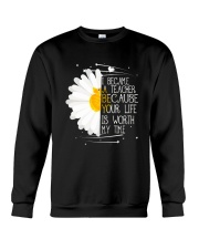 I Became A Teacher Crewneck Sweatshirt thumbnail