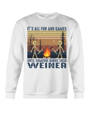 It's All Fun And Games Crewneck Sweatshirt thumbnail