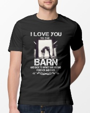 I Love You To The Barn Classic T-Shirt lifestyle-mens-crewneck-front-13