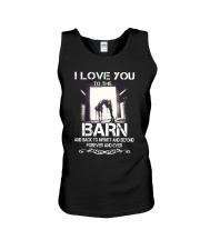 I Love You To The Barn Unisex Tank thumbnail