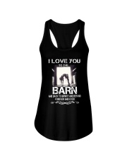 I Love You To The Barn Ladies Flowy Tank thumbnail