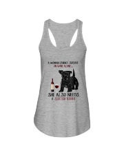 Scottish Terrier Ladies Flowy Tank thumbnail