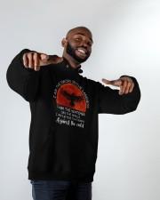 I Am The Watcher Hooded Sweatshirt apparel-hooded-sweatshirt-lifestyle-front-12