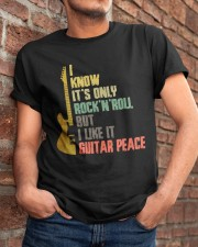 It's Only Rock And Roll Classic T-Shirt apparel-classic-tshirt-lifestyle-26