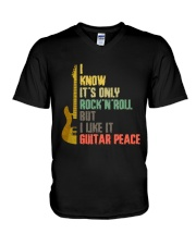 It's Only Rock And Roll V-Neck T-Shirt thumbnail