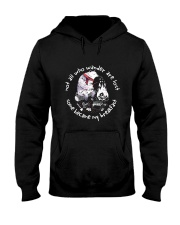 Not All Who Wander Are Lost Hooded Sweatshirt front