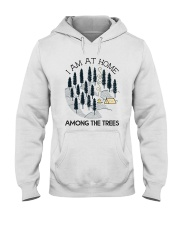 I Am At Home Hooded Sweatshirt front