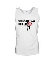 Whatever Heifer Unisex Tank thumbnail