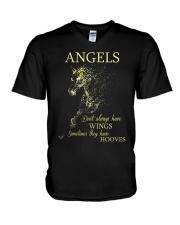 Angels V-Neck T-Shirt thumbnail