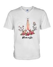 Namaste V-Neck T-Shirt thumbnail