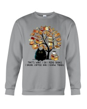 I Drink Coffee Crewneck Sweatshirt thumbnail