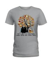 I Drink Coffee Ladies T-Shirt thumbnail