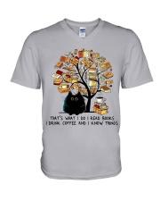 I Drink Coffee V-Neck T-Shirt thumbnail