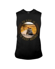 To Live Is To Keep Moving Sleeveless Tee thumbnail