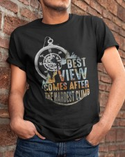Best View Comes After Classic T-Shirt apparel-classic-tshirt-lifestyle-26