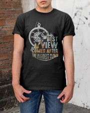 Best View Comes After Classic T-Shirt apparel-classic-tshirt-lifestyle-31