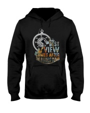 Best View Comes After Hooded Sweatshirt thumbnail