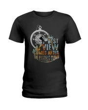 Best View Comes After Ladies T-Shirt thumbnail
