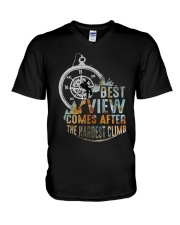 Best View Comes After V-Neck T-Shirt thumbnail
