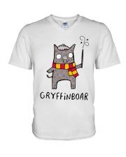 Gryffinboar V-Neck T-Shirt thumbnail
