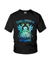Cthulhu Funny Youth T-Shirt thumbnail