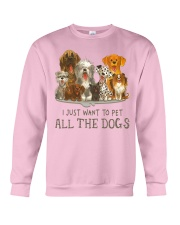 All The Dogs Crewneck Sweatshirt tile