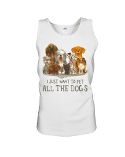 All The Dogs Unisex Tank thumbnail