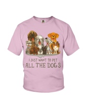 All The Dogs Youth T-Shirt tile