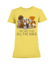 All The Dogs Premium Fit Ladies Tee tile