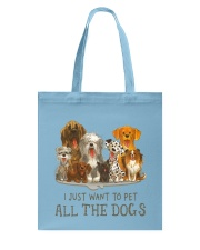 All The Dogs Tote Bag tile