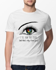 I See Your True Color Classic T-Shirt lifestyle-mens-crewneck-front-13