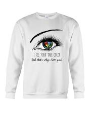 I See Your True Color Crewneck Sweatshirt thumbnail