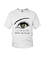 I See Your True Color Youth T-Shirt thumbnail